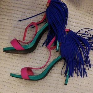 Privileged  multicolored heels